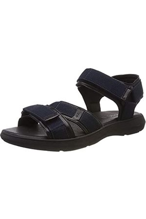 Geox Men's U Goinway B Open Toe Sandals, (Navy/ C0045)