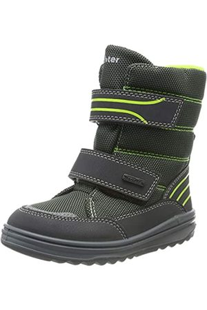 Richter Kinderschuhe Boys Snow Boots, (Ash/Brnyellow 6301)