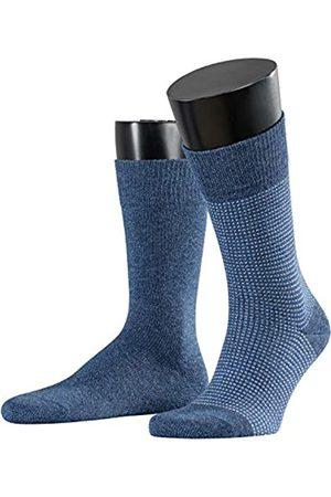 Esprit Men Contrasty Piqué 2-Pack Socks - 85% Cotton (Enzian 6570), UK 5.5-8 (Manufacturer size: 39-42)