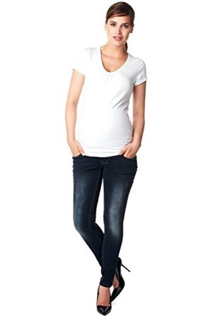 Noppies Women's Jeans OTB Skinny Britt Maternity, -Blau (Dark Stone Wash C296)