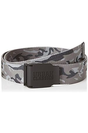 Urban classics Unisex_Adult Woven Rubbered Touch UC Belt