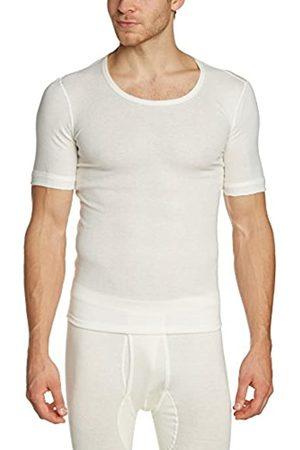 Susa Men's Angora Unterhemd s8010070 Themal Top, -Weiß (wollweiß s122)