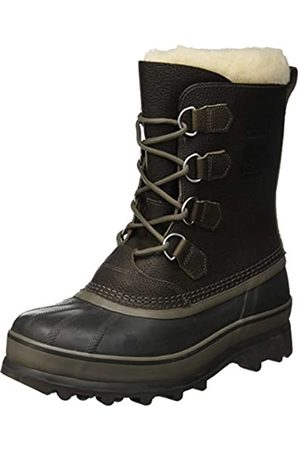 Sorel Men's CARIBOU WL Boots, Grey (Quarry)/Dark grey (Buffalo)