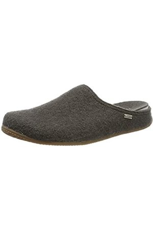 Living Kitzbühel Men's Pantoffel Unifarben mit Fußbett Open Back Slippers, (Fango 0462)