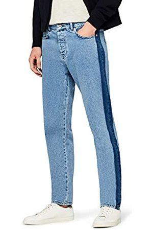 FIND Side Stripe Tapered Fit Jeans