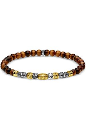 Thomas Sabo Men Vermeil Statement Bracelet A1921-966-2-L15