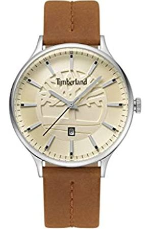 Timberland Mens Analogue Classic Quartz Watch with Leather Strap TBL.15488JS/07