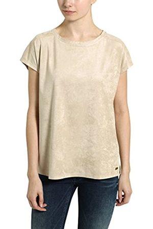 Berydale Women's Rundhals in Verlourleder-Optik T-Shirt