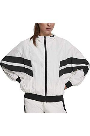 Urban Classics Women's Ladies Crinkle Batwing Jacket