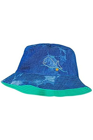 6-9 Months Infant//Toddler//Little Kids Hatley Kids Baby Girls Ocean Treasures Reversible Sun Hat Aqua XS