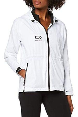 Qube Women Windbreaker Jackets Running Jackets rain Jackets Outdoor Training Jackets (Large)