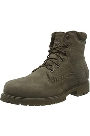 Timberland Men's 6 Inch Basic Alburn Waterproof Lace-up Boots, (Olive Nubuck)