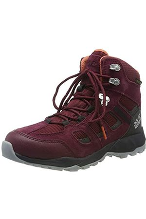 Jack Wolfskin Women's Vojo Hike Xt Texapore Mid W Wasserdicht High Rise Shoes, (Burgundy/Phantom 2814)