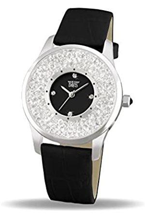 Davis Fashion Ladies Elegant Watch with Swarovski crystal