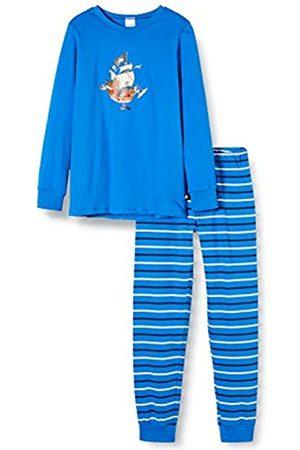 Schiesser Boy's Capt´n Sharky Kn Schlafanzug Lang Pyjama Set