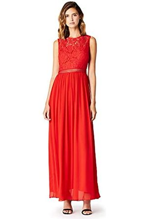 TRUTH & FABLE Amazon Brand - Women's Maxi Chiffon A-Line Dress, 8