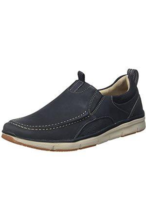 Clarks Men's Orson Row Loafers, (Navy Nubuck-)