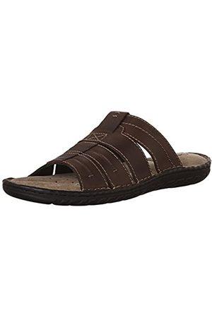 Geox Men's U Rufus B Open Toe Sandals, (Browncotto)