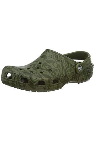 Crocs Unisex Adult's Classic Printed Camo Clog, (Army 309)
