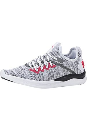 Puma Mujer Ignite Flash Evoknit WN's Zapatillas de Running, Blanco /Bright Rose 23