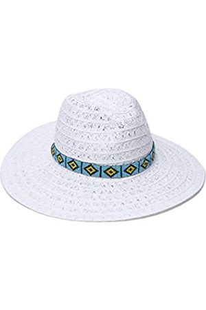 ale by Alessandra Women's Carico Lace Weave Toyo Hat with Beaded Band