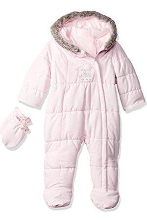 Mothercare Baby Girls' Graphic Snowsuit Fleece, (Pale )