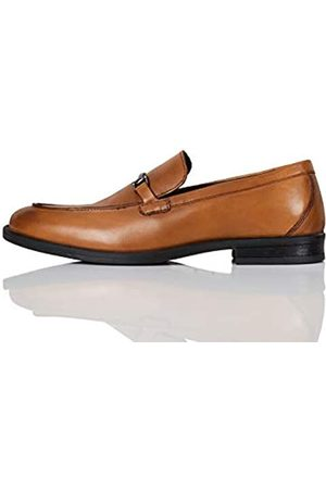 find. Amazon Brand - Men's Loafers, (Classic Tan)
