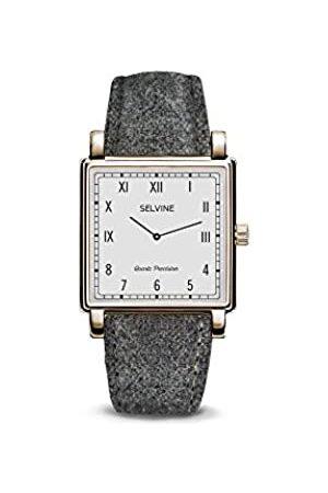 Selvine Womens Analogue Quartz Watch with Stainless Steel Strap SCHE16