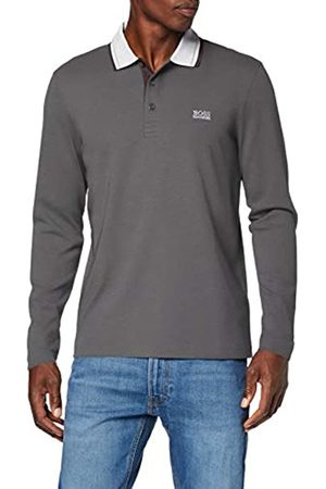 HUGO BOSS Men's Peos Long Sleeve Polo T-Shirt