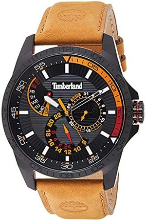 Timberland Mens Multi dial Quartz Watch with Leather Strap TBL15641JSB.02