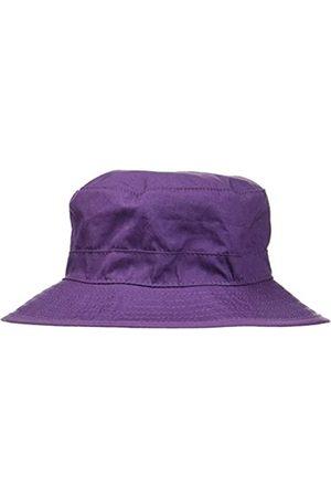 Melton Baby Girls' Sonnenhut mit schmaler Krempe UV 30+, uni Cap