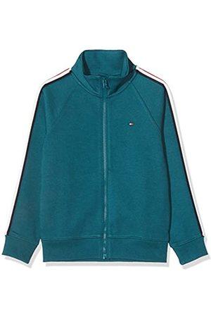 Tommy Hilfiger Boy's Stripe Interlock Zip Sweatshirt Hoodie