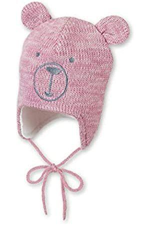 Sterntaler Baby Girls' Strickmütze Cappellopello Flat Cap