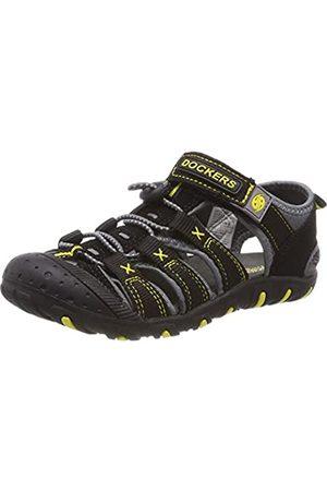 Dockers Unisex Kids' 40tw650-637120 Closed Toe Sandalss, (Schwarz/Grau 120)