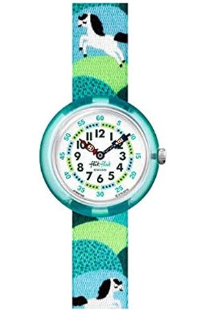 Flik Flak Watches - Swiss Quartz Watch with Textile Strap FBNP149