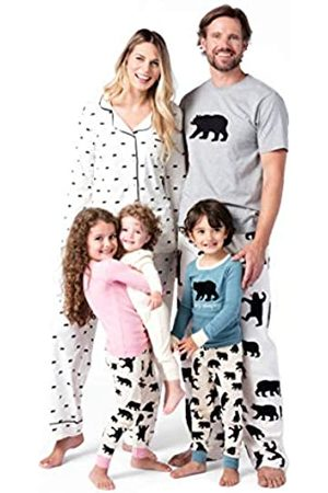 Hatley Women's Family Long Sleeve Pyjama Set- Bears On Natural
