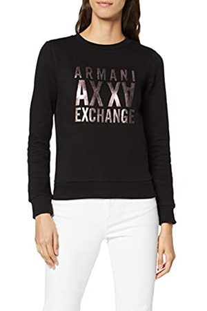 Armani Women's Mirror Logo Sweatshirt
