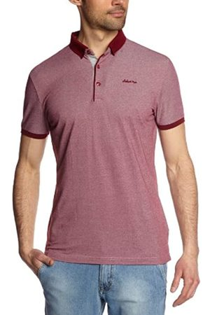 Schott NYC Ps Penny Men's T-Shirt Burgundy Heather Large