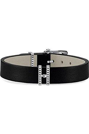 Thomas Sabo Men Leather Bracelet Rebel at heart 925 Sterling silver Length 20 cm A1783-682-11-L20v