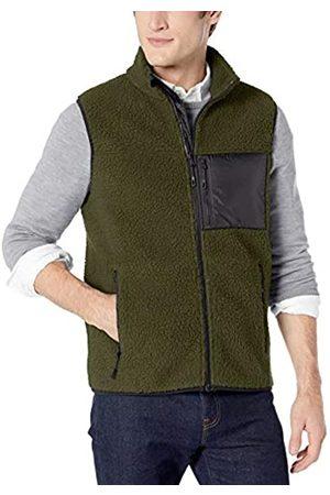 Goodthreads Sherpa Fleece Vest Olive