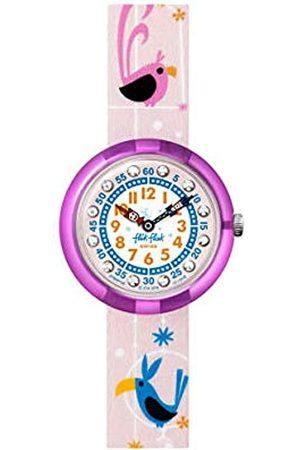 Flik Flak Girls Analogue Quartz Watch with Textile Strap FPNP126