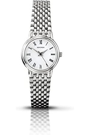 Sekonda Women's Quartz Watch with Dial Analogue Display and Stainless Steel Bracelet 4089.27