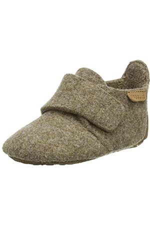 Bisgaard Baby Girls Wool Slippers, (Camel 46)