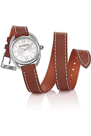Saint Honore Women Watches - Women's Analogue Quartz Watch with Leather Strap 7215261AIN-BR