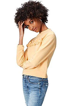find. Women's Sweatshirt Ruffle Front Long Sleeve