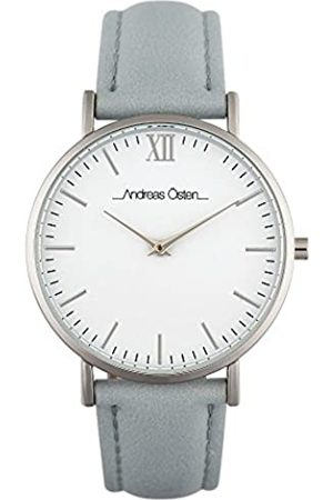 Andreas Osten Unisex-Adult Analogue Classic Automatic Watch with Leather Strap AO-241