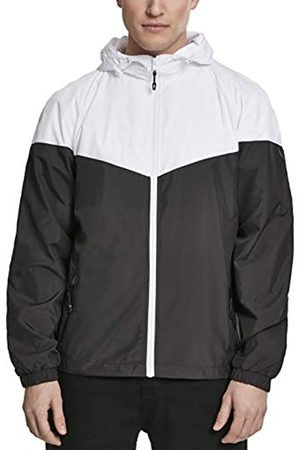 Urban classics Men's 2-Tone Tech Windrunner Jacket