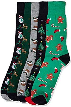 find. Men's Fnd0199lm socks (Pack of 5)