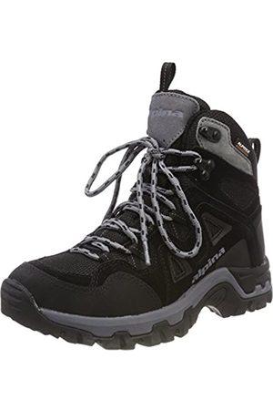 Alpina Unisex Adults' 680405 High Rise Hiking Boots, Schwarz (Schwarz (1)