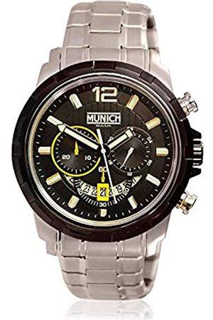Munich Unisex Adult Analogue Quartz Watch with Stainless Steel Strap MU+105.1A